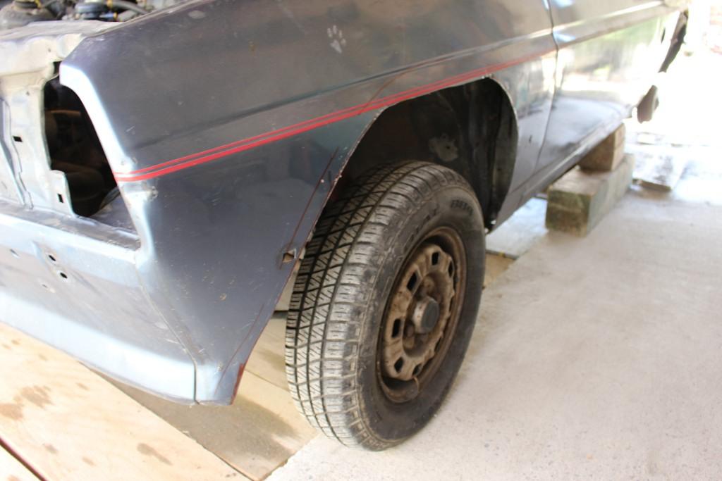 Fiesta MK1 Blacktop 2L. 16062304560112905814329676