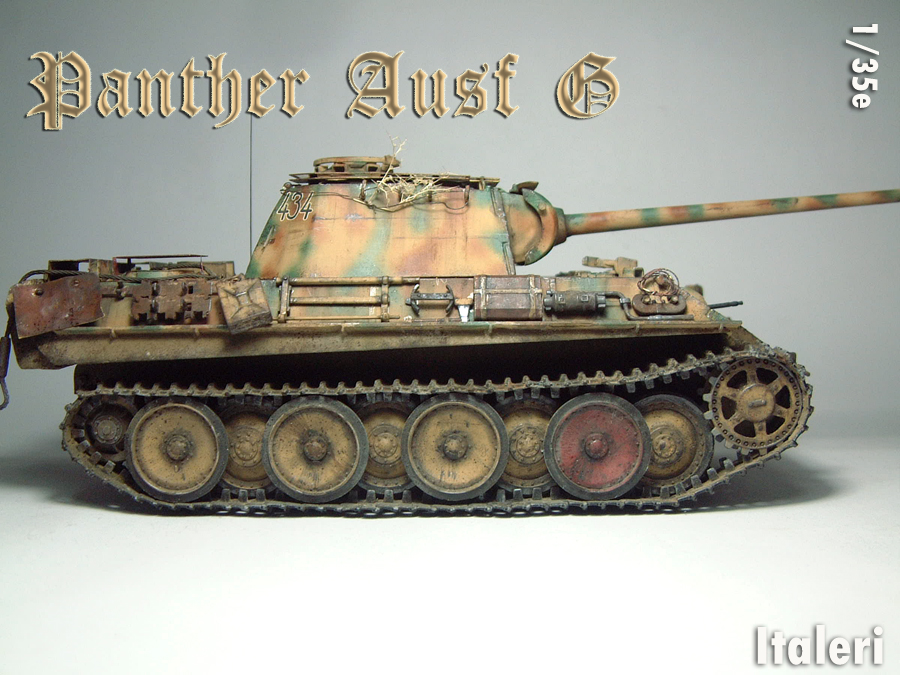 Panzer V - Panther G [Italeri] - 1/35e 1606250556504769014333139