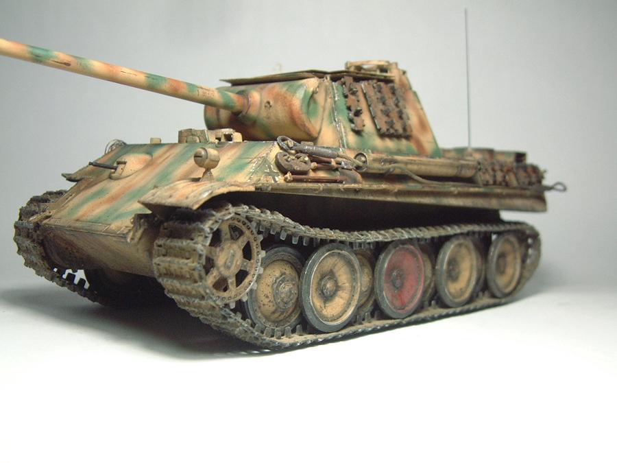 Panzer V - Panther G [Italeri] - 1/35e 1606250557244769014333155