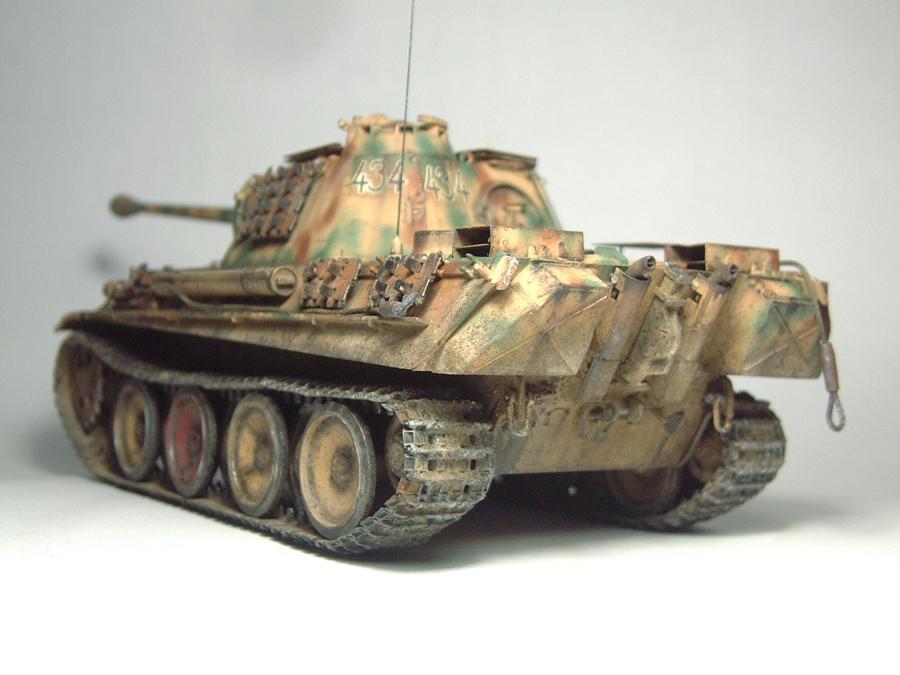 Panzer V - Panther G [Italeri] - 1/35e 1606250557384769014333159