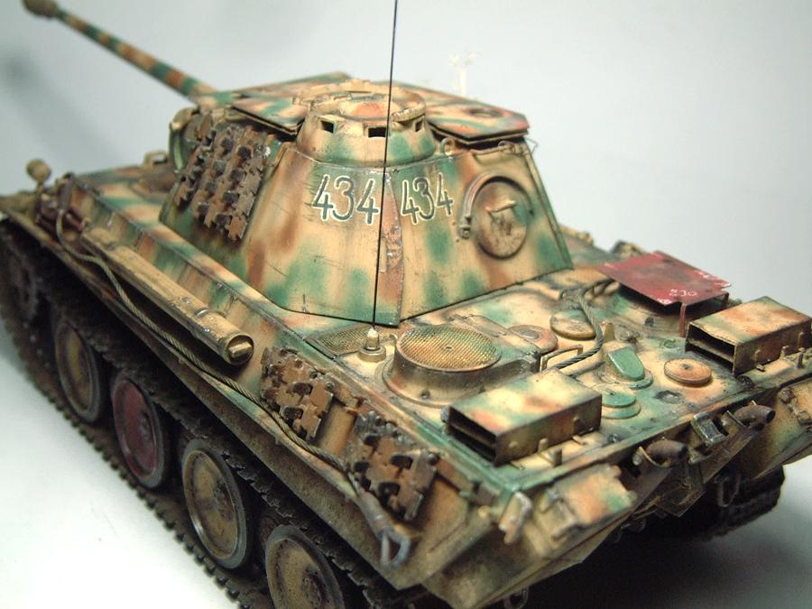 Panzer V - Panther G [Italeri] - 1/35e 1606250557444769014333160