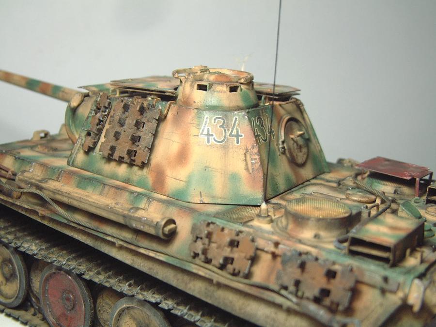 Panzer V - Panther G [Italeri] - 1/35e 1606250557504769014333161