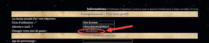 TUTORIELS - Gérer son profil 16062706273519481614337120