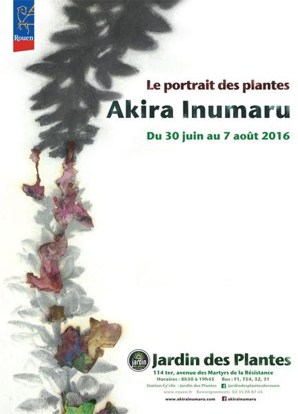 Affiche exposition Akira Inumaru