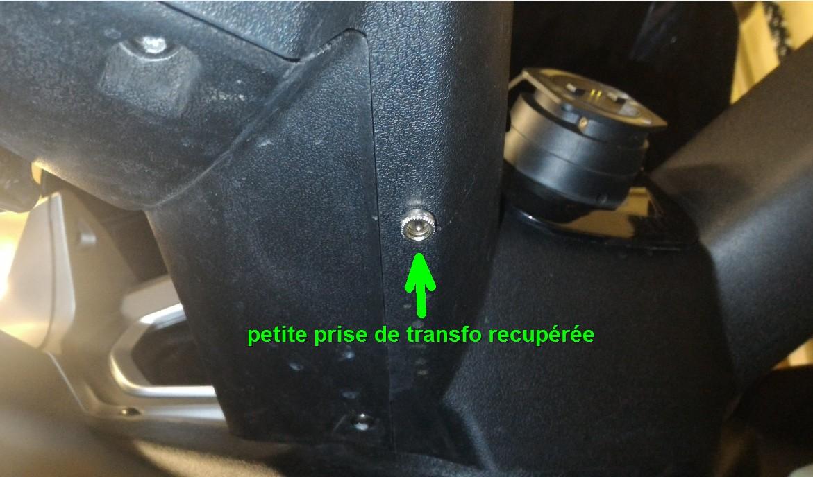 Fixation GPS et branchement pour quadro 1606290351096010314341430