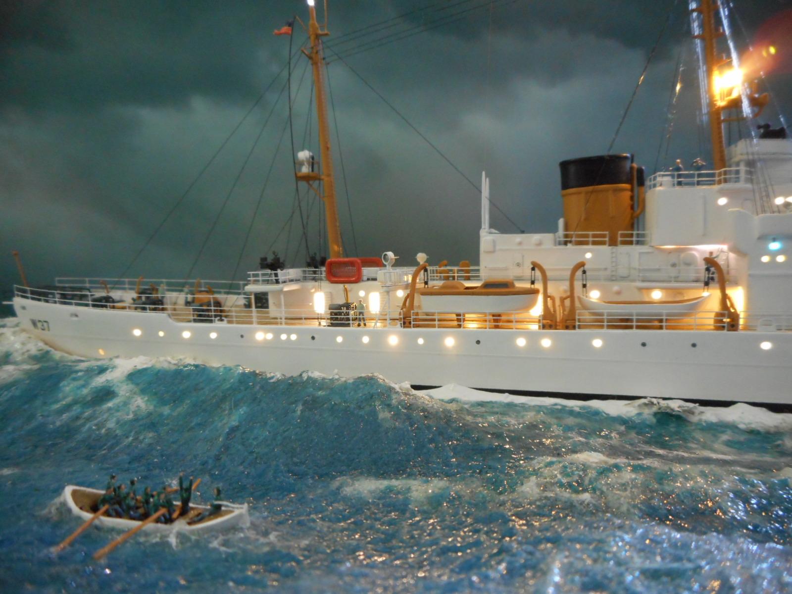 USS TANEY 1/300 Revell  16070410011720399714352992