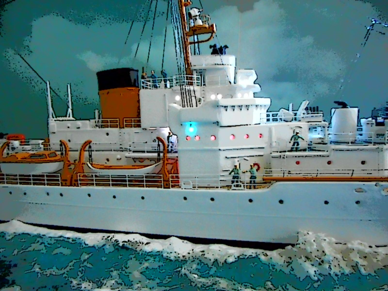 USS TANEY 1/300 Revell  16070412395620399714353169