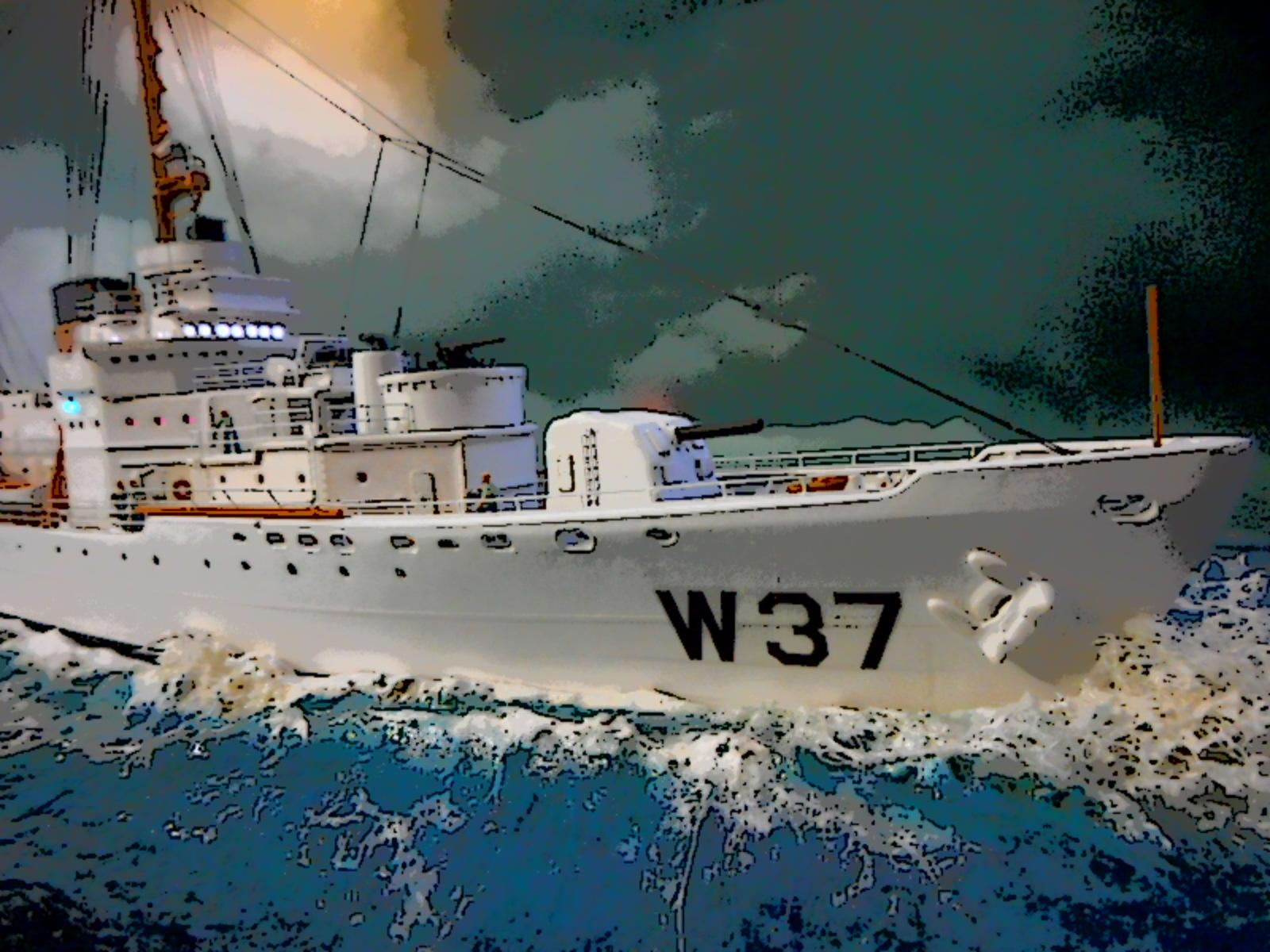 USS TANEY 1/300 Revell  16070412402420399714353175