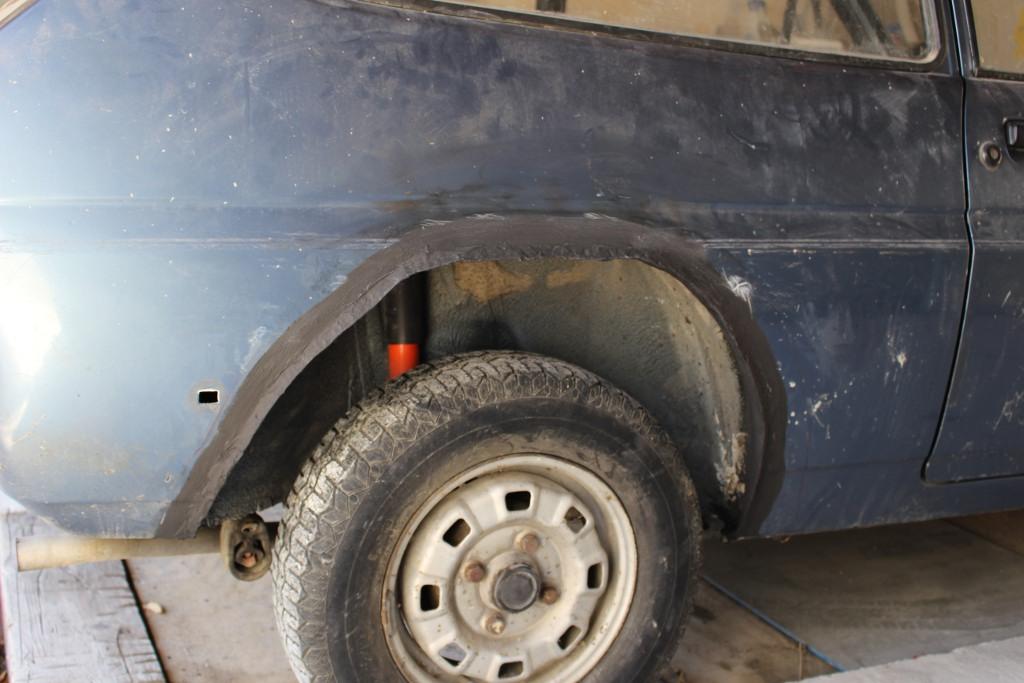 Fiesta MK1 Blacktop 2L. 16071007094412905814366445