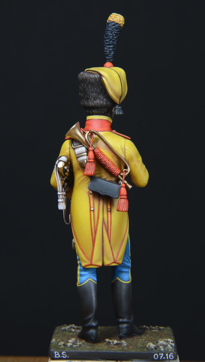 Vitrine de Bernard.S (Métal Modèles, bien entendu...) Trompette des 9ème et 7ème Hussards - Page 4 1607101232243593414365337