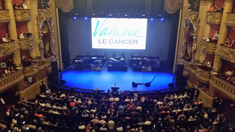 """JOHNNY HALLYDAY 10/07/2016 Concert """"Vaincre le cancer"""" à l'Opéra Garnier (Paris) : en écoutec 16071304094920773814373151"""