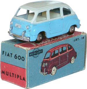 Fiat 600 Multipla Mercury