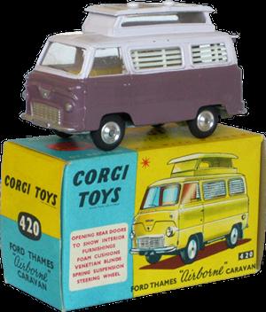 Ford Thames airborne Corgi-Toys
