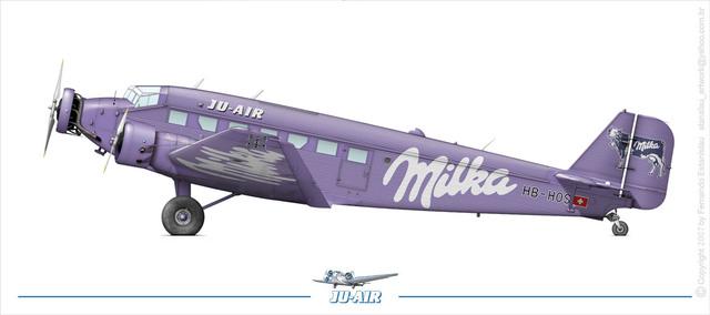 "Junkers Ju-52 ""Milka"" ( Italeri plus  décals Karaya et FFSMC au 1/72 )  16072806182610194414398568"