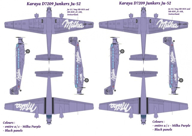 "Junkers Ju-52 ""Milka"" ( Italeri plus  décals Karaya et FFSMC au 1/72 )  16072806182710194414398569"