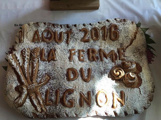 2016 : 1er Août - Brunch à la Ferme du Lignon 1608010328581858214405125
