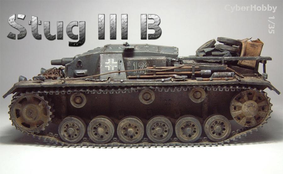 [CyberHobby] Stug III B - 1/35e - 1608040219134769014410269
