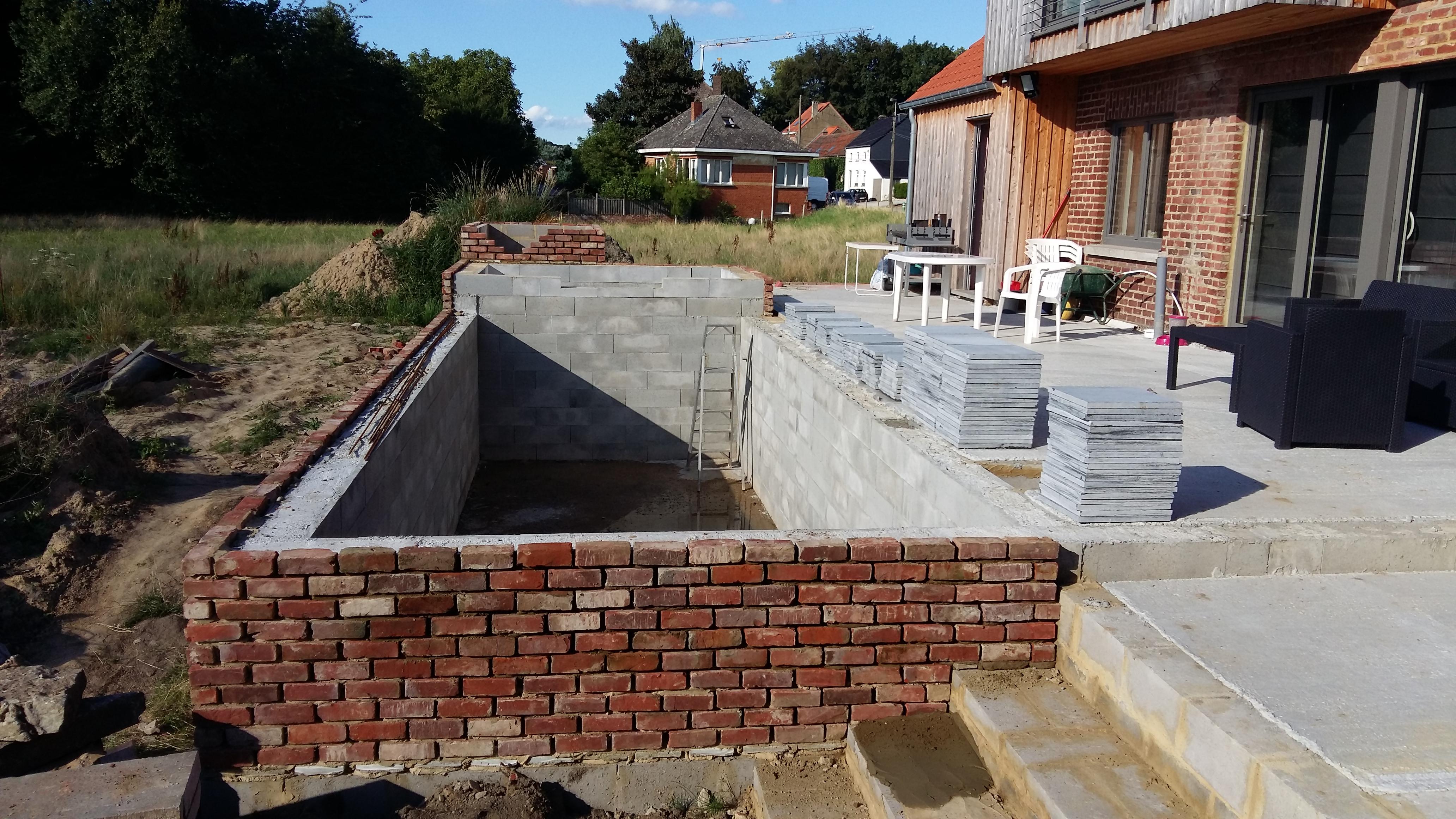 construction de mes 2 bassins béton : 44 000 litres - forum