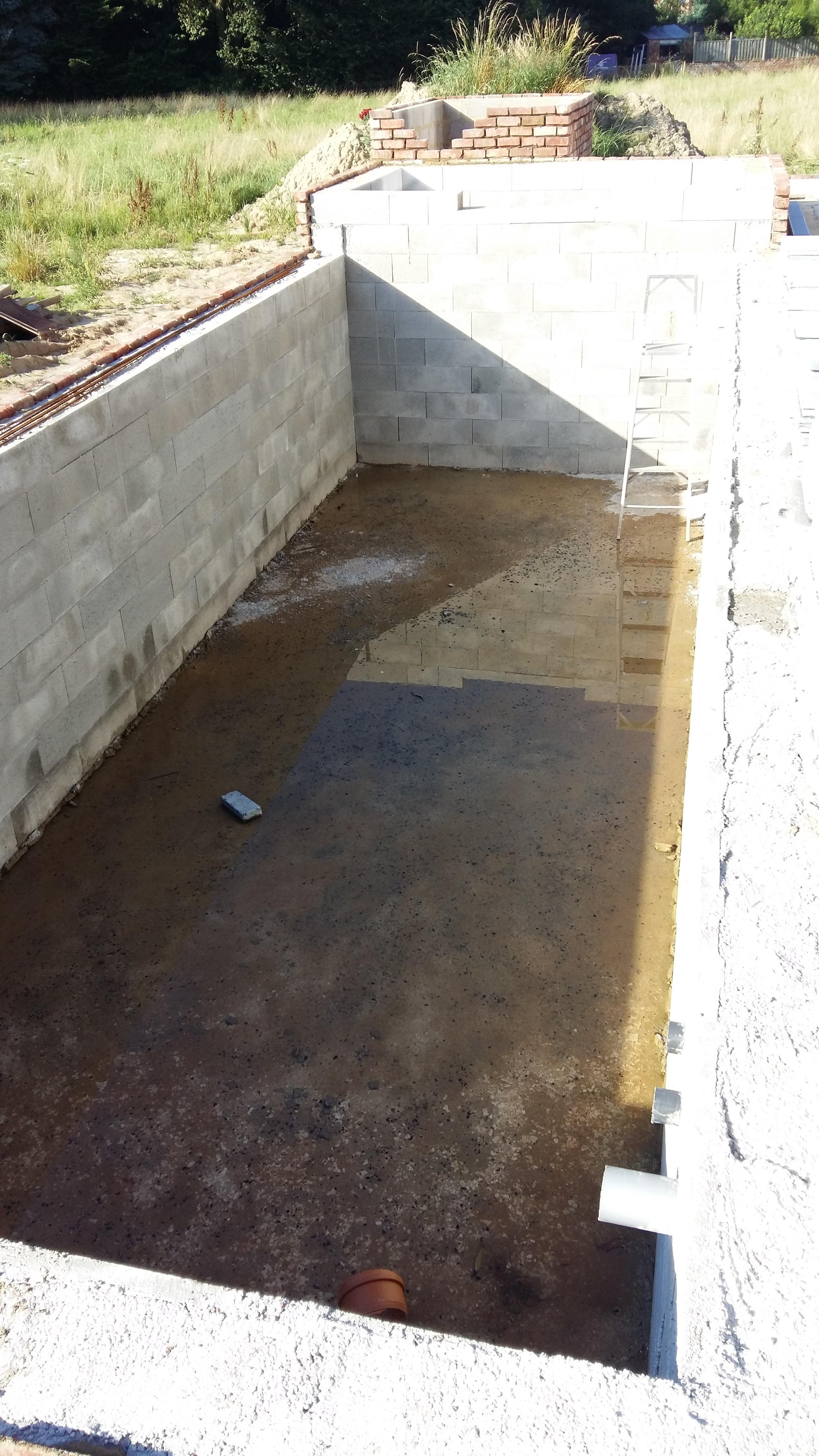 construction de mes 2 bassins béton : 44 000 litres - Forum ...