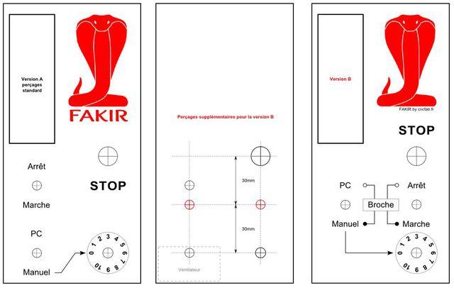 Déco Boitier électronique FAKIR 16080807355021928314417980
