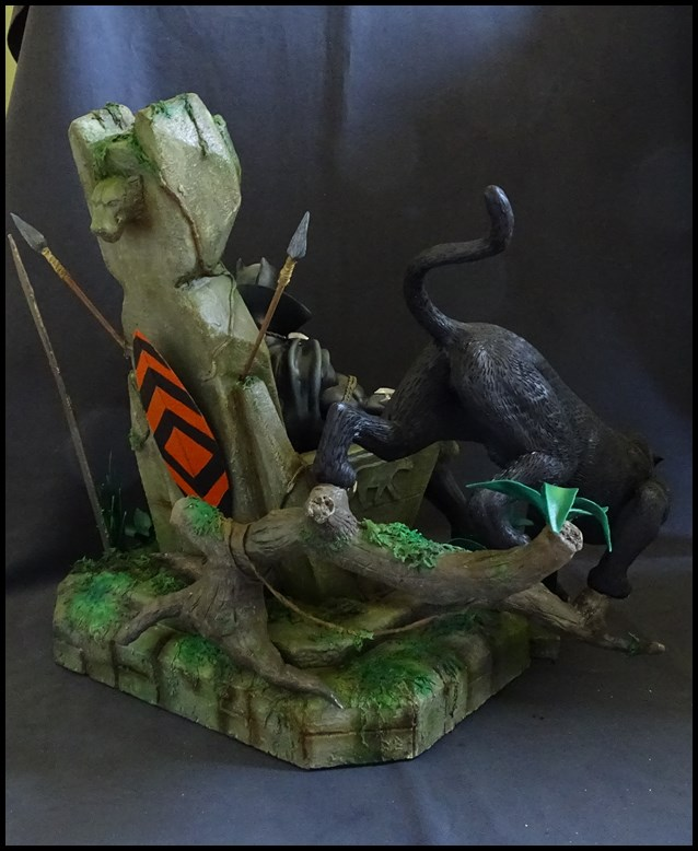 Black Panther sur son trone diorama 1/4 16081302231416083614427167