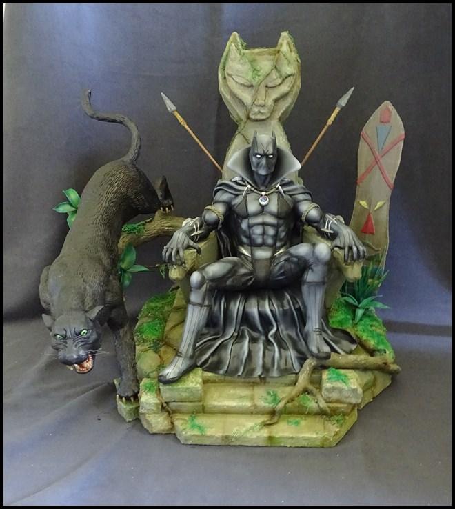 Black Panther sur son trone diorama 1/4 16081302232516083614427173