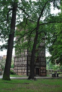 La tour et les cloches de<br /> l
