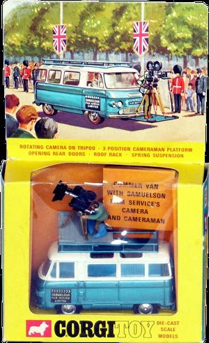 Commer Van Samuelson film services Corgi-Toys