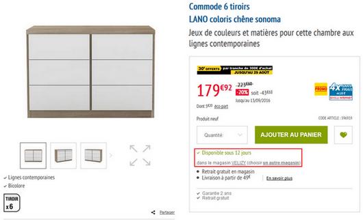 conforama et leur service apr s vente conforama forum que choisir. Black Bedroom Furniture Sets. Home Design Ideas