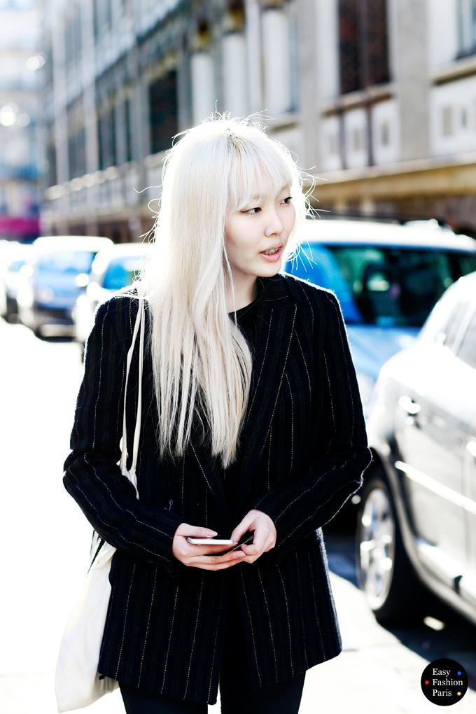 Blond-asian