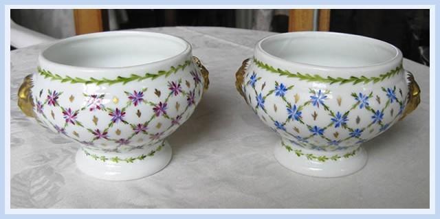 Christiane : Peinture sur porcelaine 1609040528341858214470912