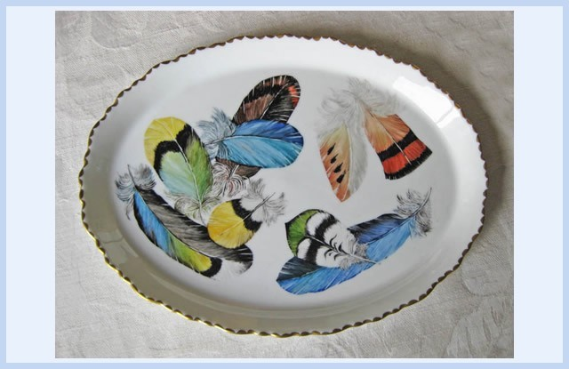 Christiane : Peinture sur porcelaine 1609040528351858214470914