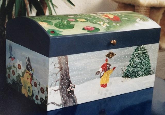 Christiane : Peinture sur bois II 1609040955121858214471628