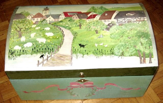 Christiane : Peinture sur bois II 1609040955141858214471633