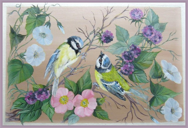 Christiane : Peinture sur bois II 1609040955141858214471636