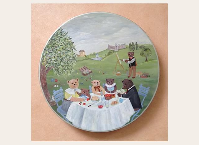 Christiane : Peinture sur bois II 1609040955171858214471643