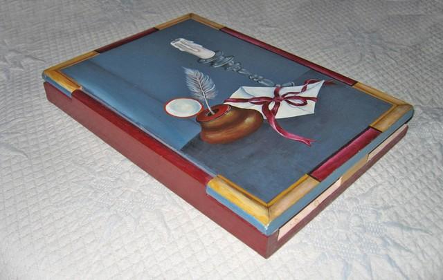 Christiane : Peinture sur bois I 1609040955201858214471655
