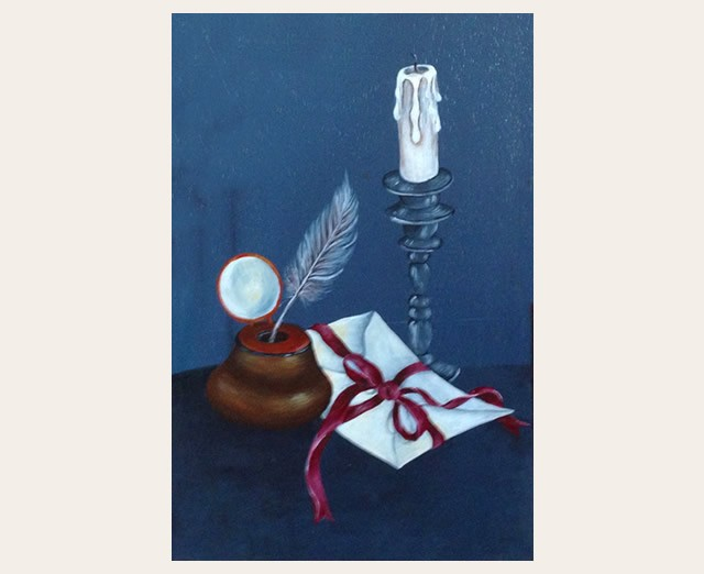 Christiane : Peinture sur bois I 1609040955211858214471656