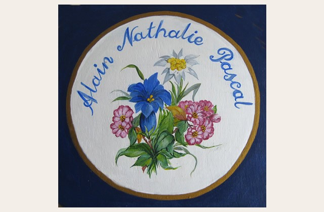 Christiane : Peinture sur bois I 1609040955251858214471667