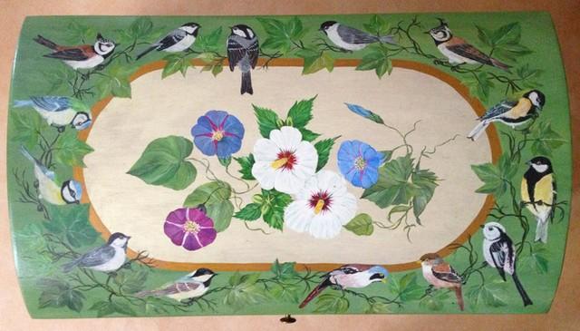 Christiane : Peinture sur bois II 1609040955381858214471710
