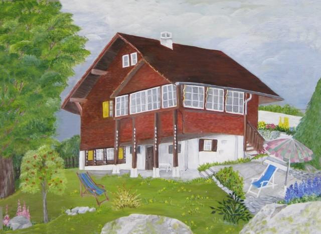 Christiane : Peinture sur bois II 1609040955391858214471714