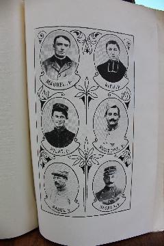 Album RARE GUERRE 1914 1918 LOZERE MENDE LIVRE D'OR DU DIOCESE DE MENDE ILLUSTRATIONS