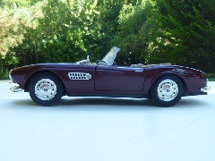 Album BMW 507  spider 1955