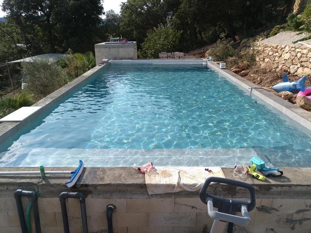 Autoconstruction 11x5x1 4 carrel e terrasse bois termin e for Autoconstruction piscine bois