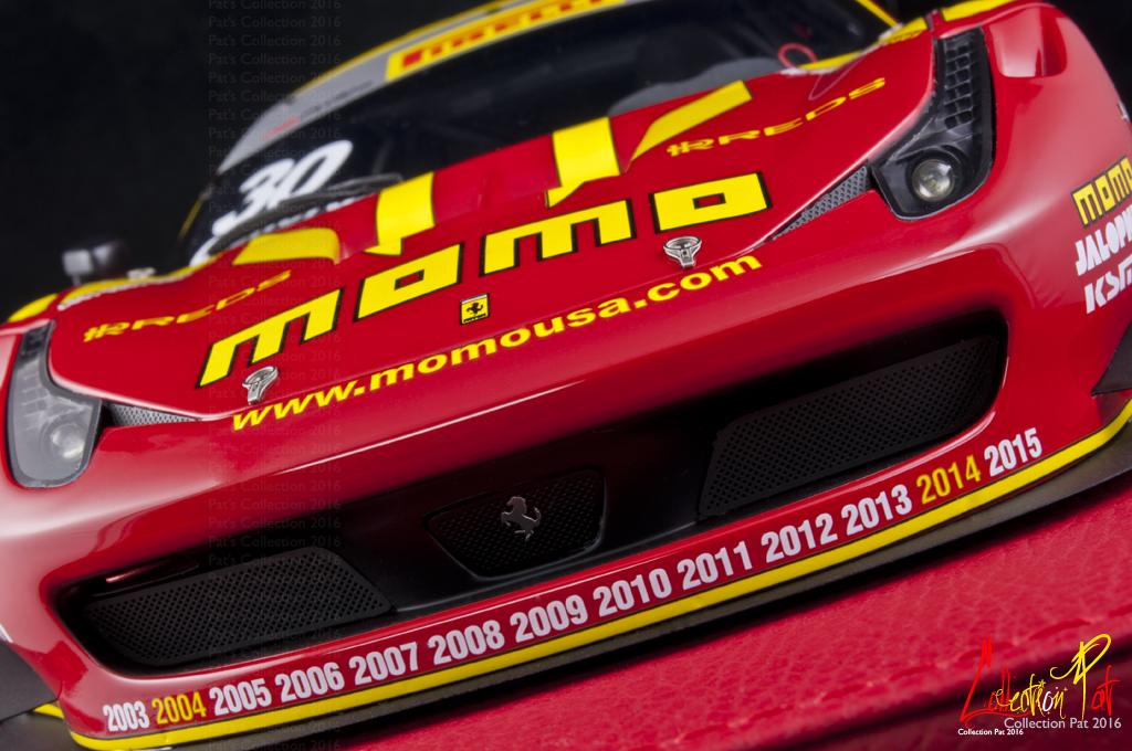 458 GT3 #30 Momo 1