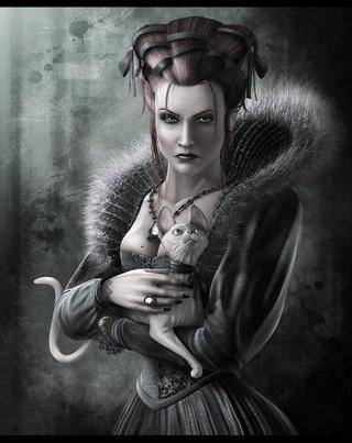 La Reine Beruthiel et ses chats 1610140129268246714555626