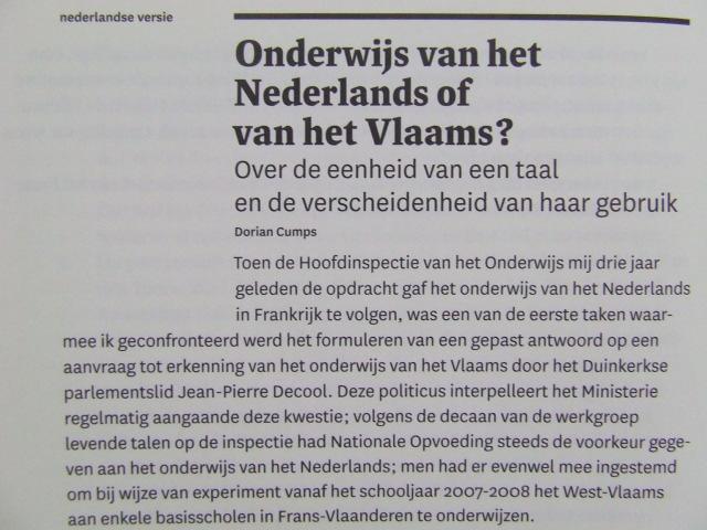 De relatie tussen het Frans-Vlaams en het Nederlands - Pagina 4 16102011410521508714568384