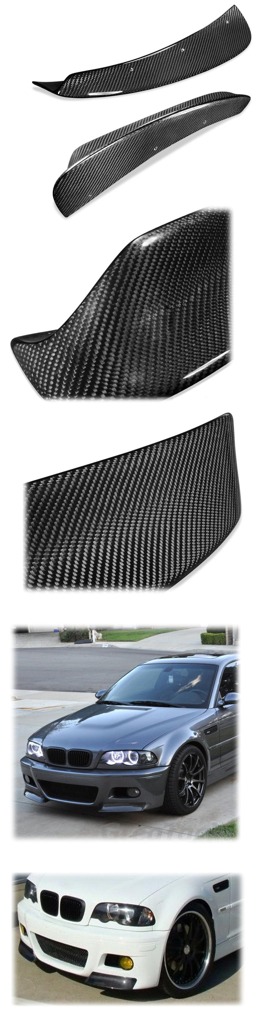 bmw e46 m3 style bumper splitter spoiler wing for bmw. Black Bedroom Furniture Sets. Home Design Ideas