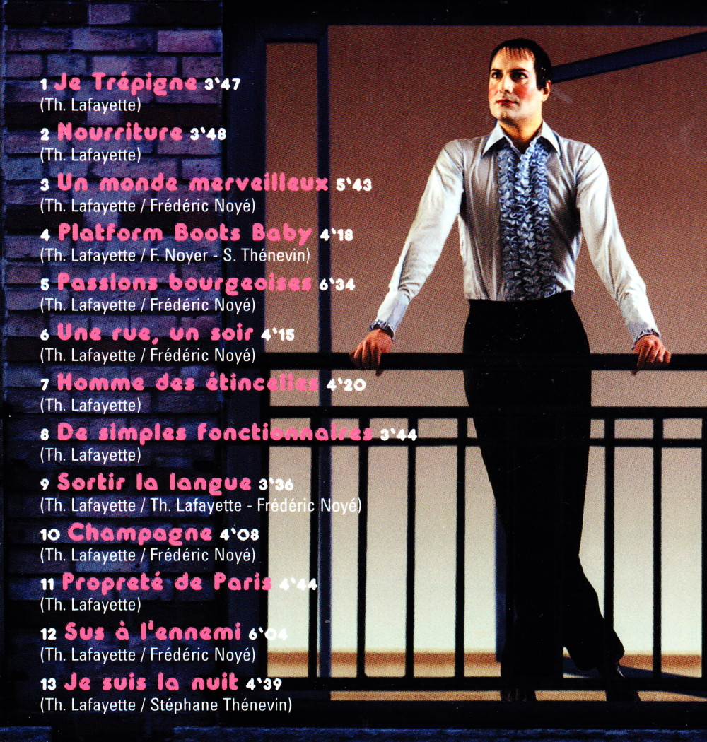 """""""Le monde merveilleux"""" de THIERRY LAFAYETTE par PATRICK EUDELINE 1999 (""""Rock Folk"""") 16102309300520773814577169"""