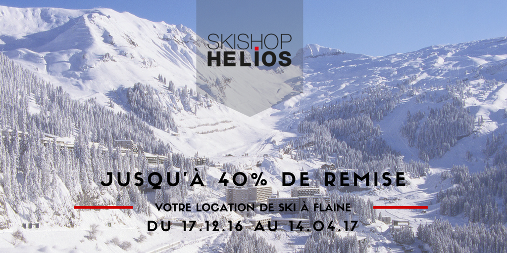 location ski flaine